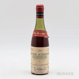 Mongeard Grands Echezeaux 1961, 1 demi bottle