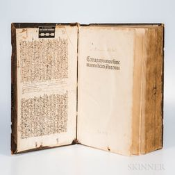 Antoninus Florentinus (1389-1459) Summa Theologica  , Part Three only of Five.