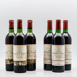Chateau Lynch Bages, 6 bottles