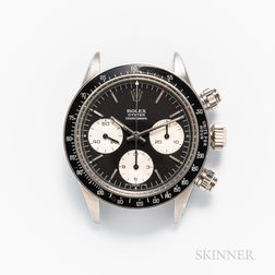 """Single-owner Rolex Daytona Cosmograph Reference 6263 """"Sigma"""" Dial Wristwatch"""