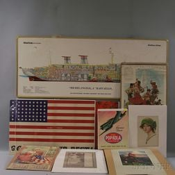 Group of Assorted Advertising, Posters, and Ephemera