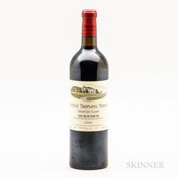 Chateau Troplong Mondot 2000, 1 bottle