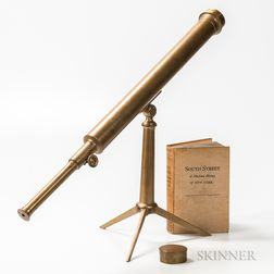2 1/2-inch Tabletop or Library Presentation Telescope and Book