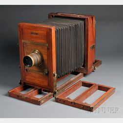 Folmer and Schwing Commercial View 8 x 10 Camera and Lens