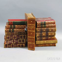 Group of 19th and 20th Century Books