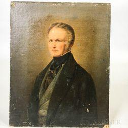 European School, 19th Century    Portrait of a Gentleman