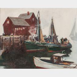 Harry Russell Ballinger (American, 1892-1993)      Motif No. 1