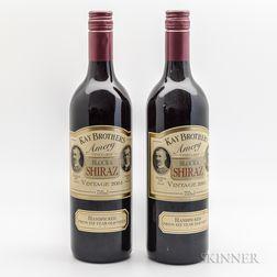 Kay Brothers Shiraz Block 6 Amery Vineyards 2004, 2 bottles