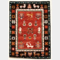 "Two EGE ""Village Life"" Rugs"