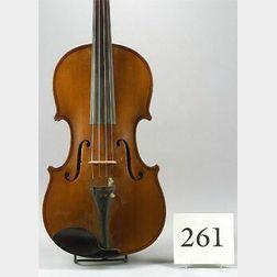 German Violin, Eduard Reichert, Dresden
