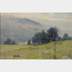 Joseph H. Greenwood (American, 1857-1927)      Scene in Warwick, Mass