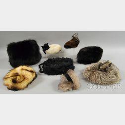 Eight Ladies' Fur Accessories