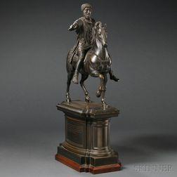 Grand Tour Bronze Statue of Marcus Aurelius