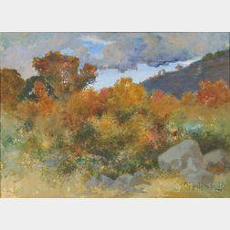 Stephen Maxfield Parrish (American, 1846-1938)      Autumn Vista