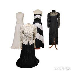 Four Jessica McClintock Dresses