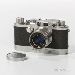 Leica IIIF (Leicavit) with Nikkor HC 50cm Lens