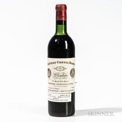 Chateau Cheval Blanc 1961, 1 bottle
