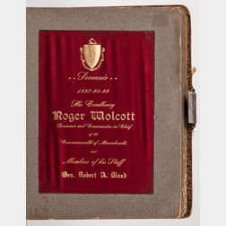 Wolcott, Roger (1847-1900) Gubernatorial Souvenir Photo Album, 1897-1899.