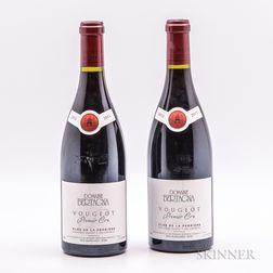 Bertagna Clos Vougeot Clos de la Perriere 2015, 2 bottles