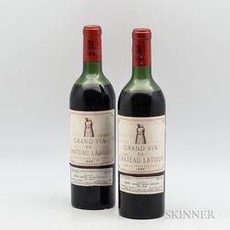 Chateau Latour 1966, 2 bottles