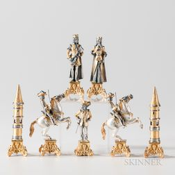 Giuseppe Vasari Byzantine Chess Set