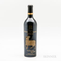 Chateau Mouton Rothschild 2000, 1 bottle