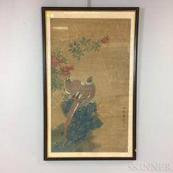 Painting Depicting Pheasants