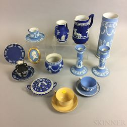 Seventeen Wedgwood Ceramic Items