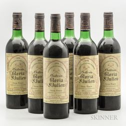 Chateau Gloria 1978, 6 bottles