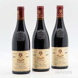 Bertrand Ambroise Corton Le Rognet 2005, 3 bottles
