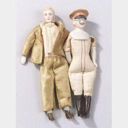 Two Dollhouse Men