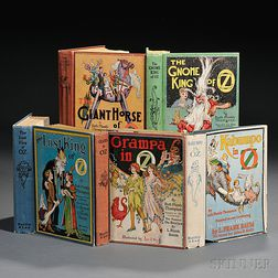 [Wizard of Oz] Ruth Plumly Thompson (1891-1976) Five Titles.