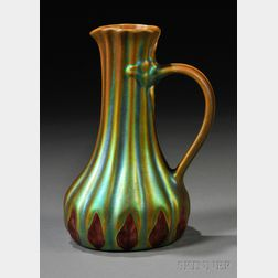 Art Nouveau Zsolnay Pitcher