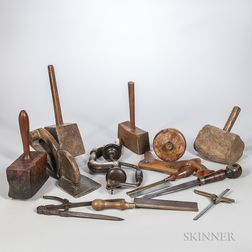 19th and 20th Century Cabinetmaker's Tools