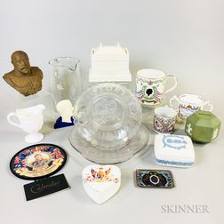 Fifteen British Royal Commemorative Items