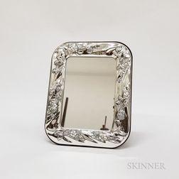 Marcello Giorgio Silver-plate Mirror or Frame