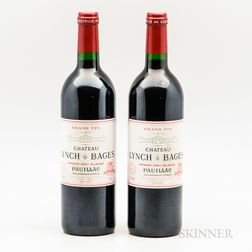Chateau Lynch Bages 2000, 2 bottles