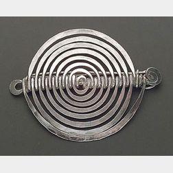 Silver Brooch, Alexander Calder