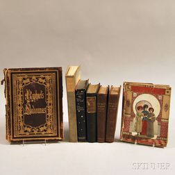 Mixed Lot, 19th and 20th Century, Seven Volumes: