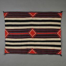 Navajo Germantown Chief's-style Weaving