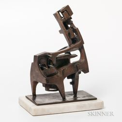 David Crissy Packard (1928-1968) Modernist Sculpture