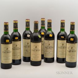 Chateau Talbot, 8 bottles
