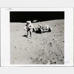 Apollo 15, Lunar Roving Vehicle and David Scott, August 1971.