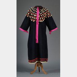 Plains Blue Trade Cloth Woman's Dress