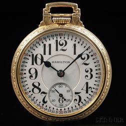 Hamilton 992  21-jewel 16 Size Watch
