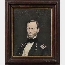 Lithograph Portrait of General William Tecumseh Sherman
