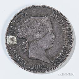 Civil War Silver Coin Identity Disc