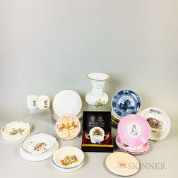 Twenty-three British Royal Commemorative Items