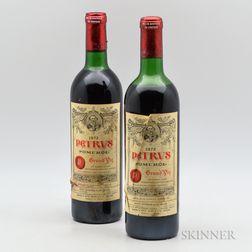 Petrus 1972, 2 bottles
