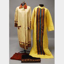 Four Continental Textile Items